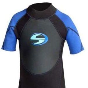 Deep See Kids Shorty Wet Suit Size XS